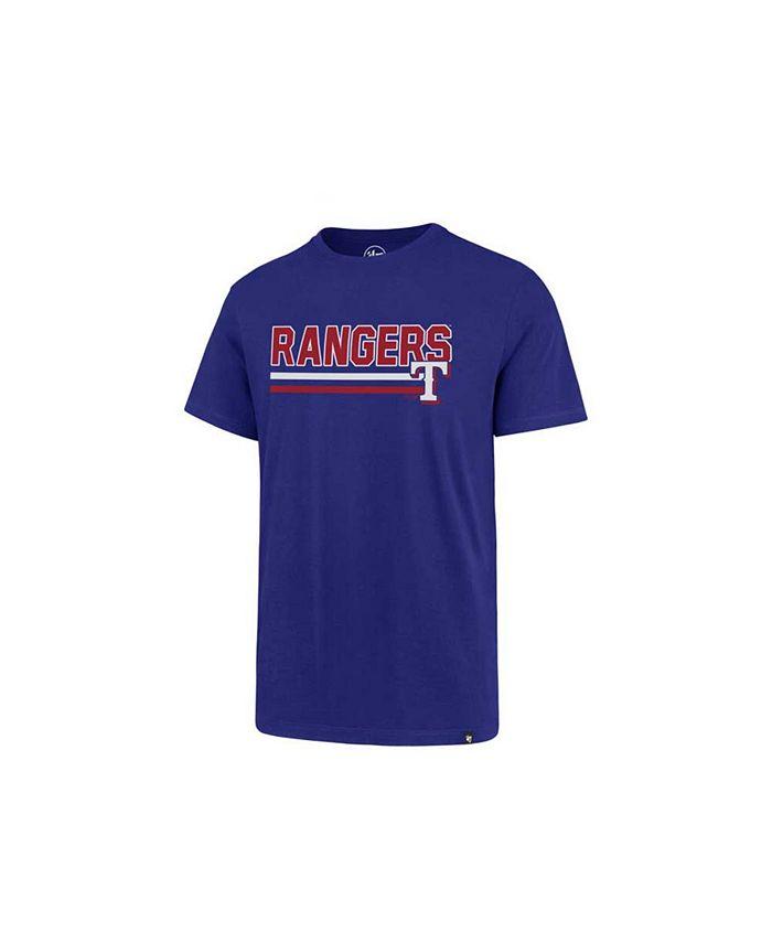 '47 Brand - Men's Texas Rangers Line Drive T-Shirt