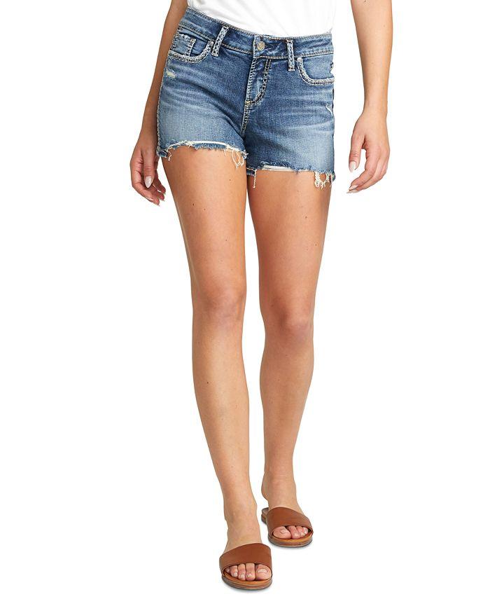 Silver Jeans Co. - Elyse Cutoff Denim Shorts
