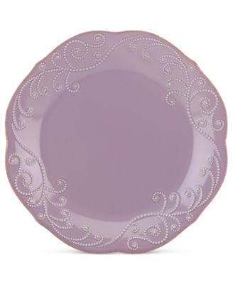 Lenox French Perle Violet Dinner Plate