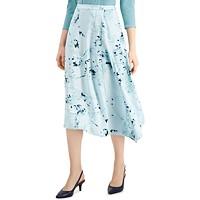 Deals on Alfani Print A-Line Skirt