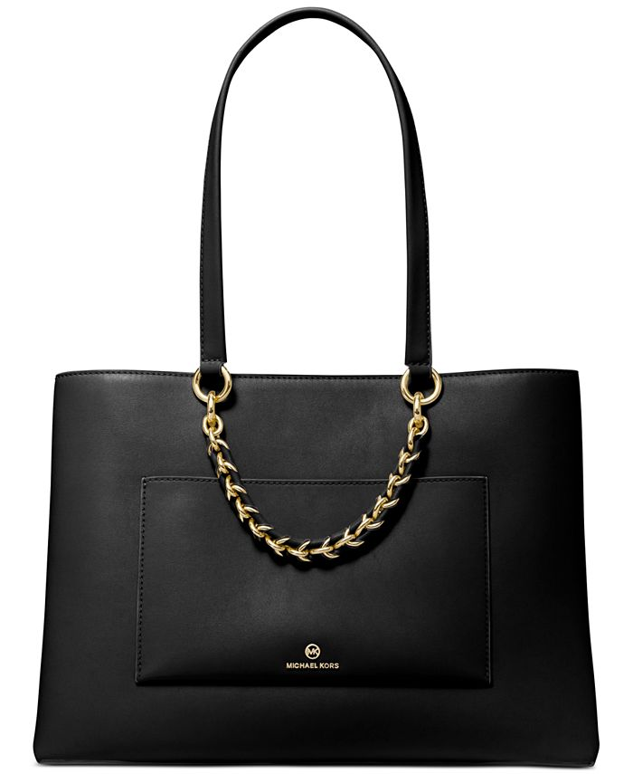 Michael Kors - Cece Medium Ribbon Chain Leather Tote
