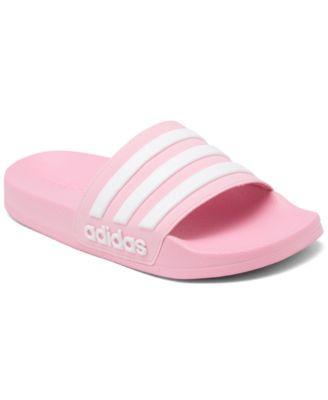 adidas Big Girls Adilette Shower Slide