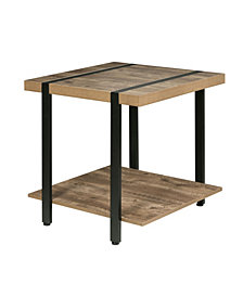 OneSpace Bourbon Foundry End Table