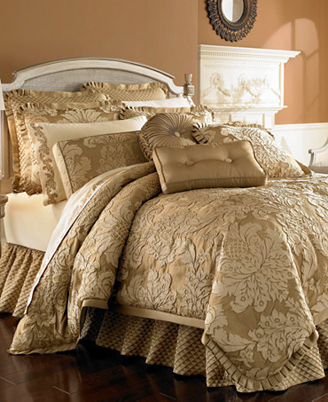 J Queen New York Contessa Gold Comforter Sets Bedding Collections
