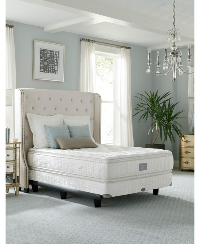 "Hotel Collection - Classic by Shifman Meghan 15"" Plush Pillow Top Mattress - Twin, Created for Macy's"