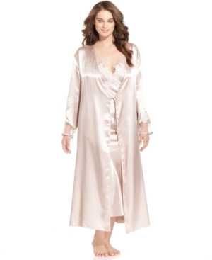 Flora by Flora Nikrooz Robe, Plus Size Goddess Robe