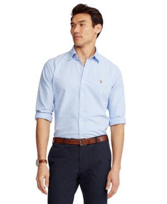 Men's Classic Fit Long-Sleeve Oxford Shirt