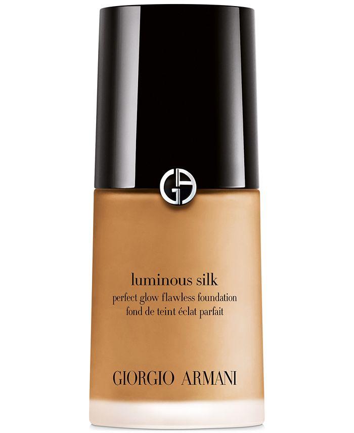 Giorgio Armani Luminous Silk Perfect Glow Flawless Oil Free Foundation 1 Oz Reviews Foundation Beauty Macy S