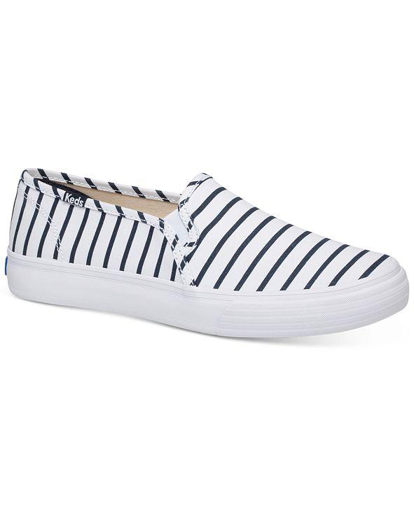 Keds Women's Double Decker Breton Stripe Sneaker