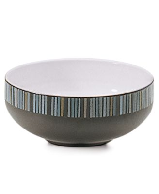 Denby Dinnerware, Jet Stripes Cereal Bowl