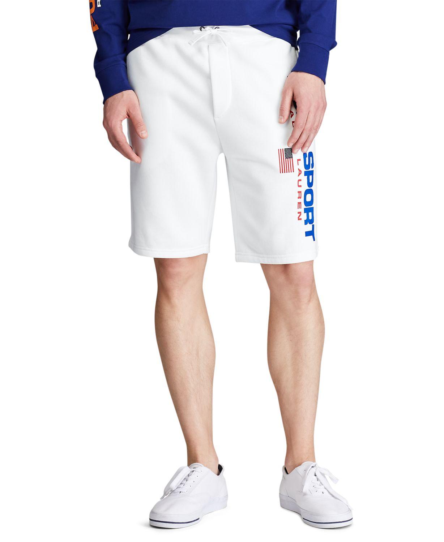 Polo Ralph Lauren Polo Ralph Lauren Men's Big & Tall Fleece Shorts & Reviews - Shorts - Men - Macy's