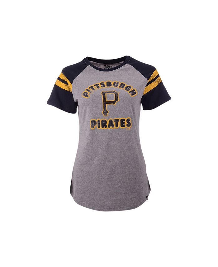 '47 Brand - Pittsburgh Pirates Women's Fly Out Raglan T-shirt