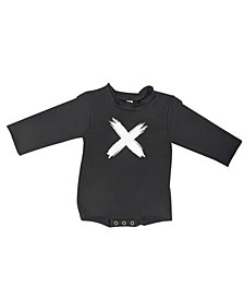 Earth Baby Outfitters Baby Boys and Girls Organic Cotton Cross Raw Edge Sweater