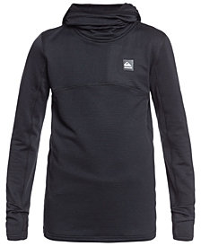 Quicksilver Big Boys Steep Point Youth Long Sleeve Hooded Fleece