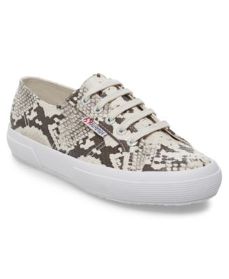 2750 Synth Snake Lace-Up Sneakers