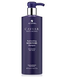 Alterna Caviar Anti-Aging Replenishing Moisture Shampoo, 16.5-oz.