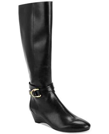 Bandolino Around Me Wedge Boots - Shoes - Macy's