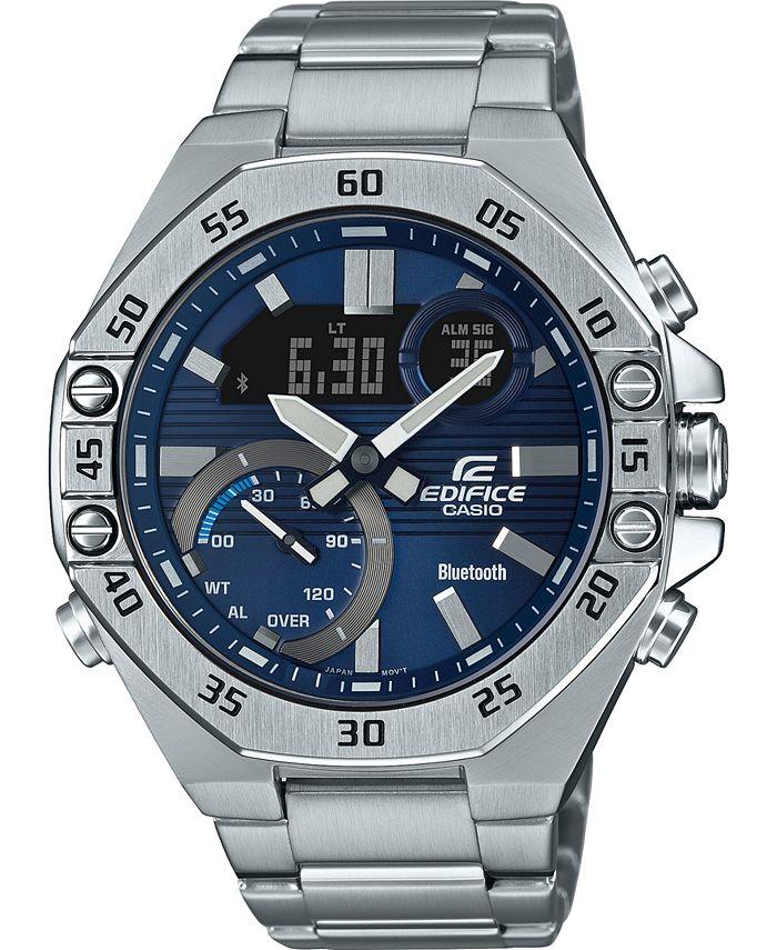 G-Shock - Men's  Stainless Steel Bracelet Watch 48mm
