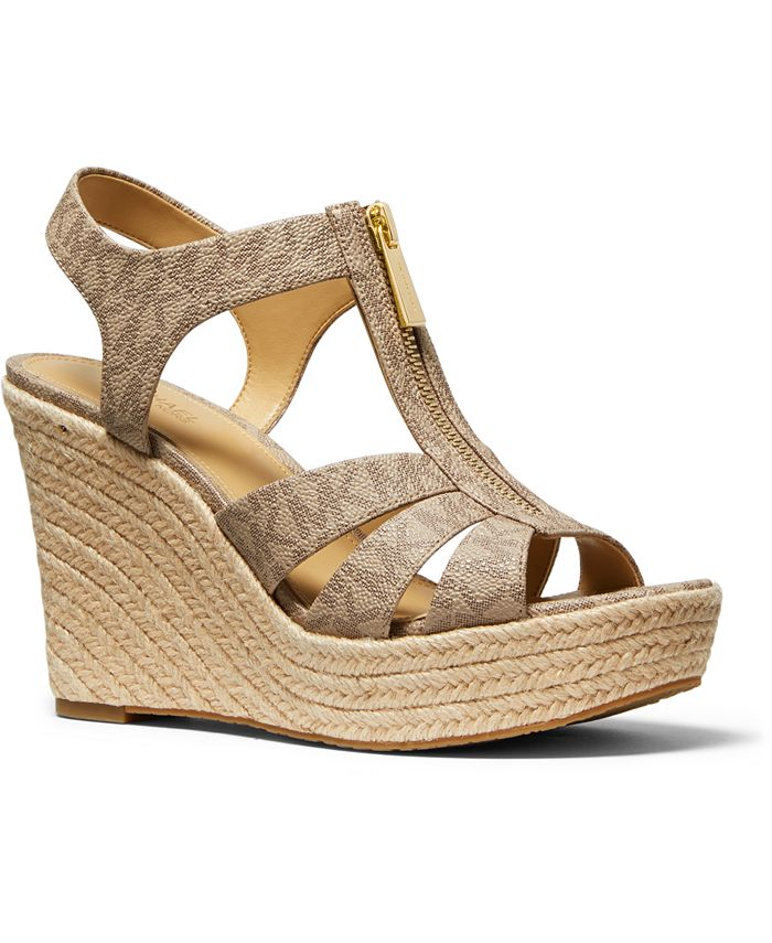 Michael Kors - Berkley Espadrille Wedge Sandals