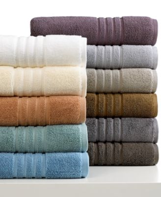 "Hotel Collection Bath Towels, MicroCotton Luxe 13"" Square Washcloth"