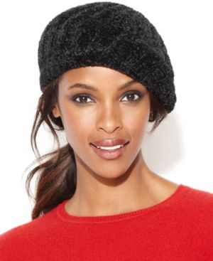 Charter Club Chenille Shaker Beret Hat