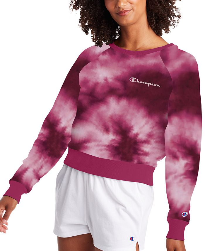 Champion - Campus Tie-Dyed French Terry Sweatshirt