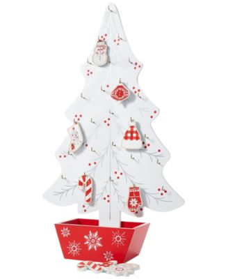 Chalet You Stay, Whimsical Tree Advent Calendar, Created for Macy's