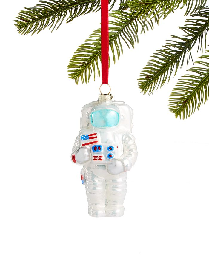 Holiday Lane - Spaced Out Glass Astronaut Ornament