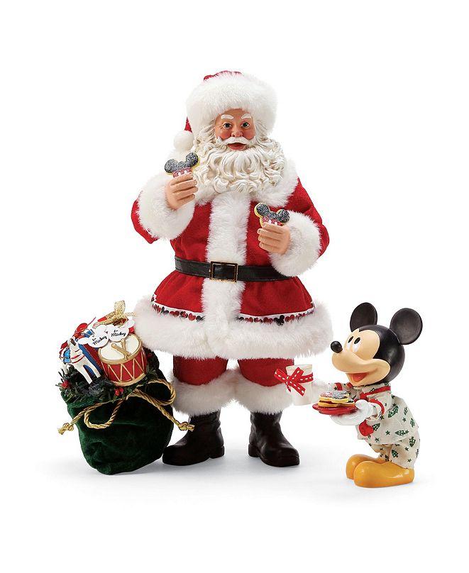 Department 56 Possible Dreams Disney Milk  Cookies for Santa