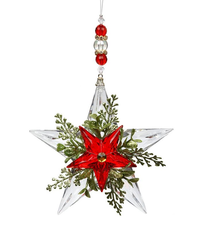 Ganz - Kissing Krystals®  Beaded Mistletoe Krystal Star