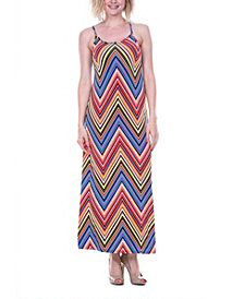 White Mark Women's Adalina Maxi Dress