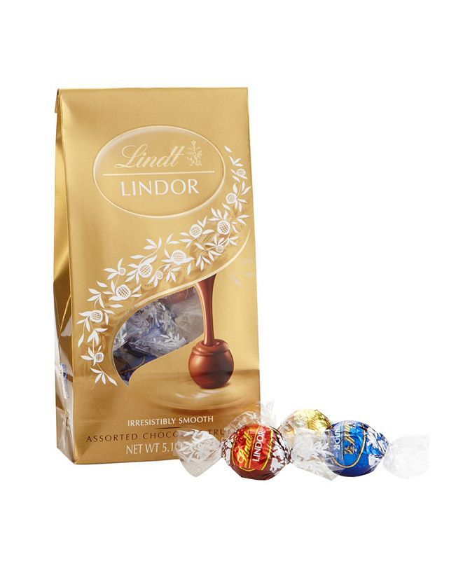 Lindt Lindor Assorted Chocolate Truffles, 5.1 oz, 3 Pack