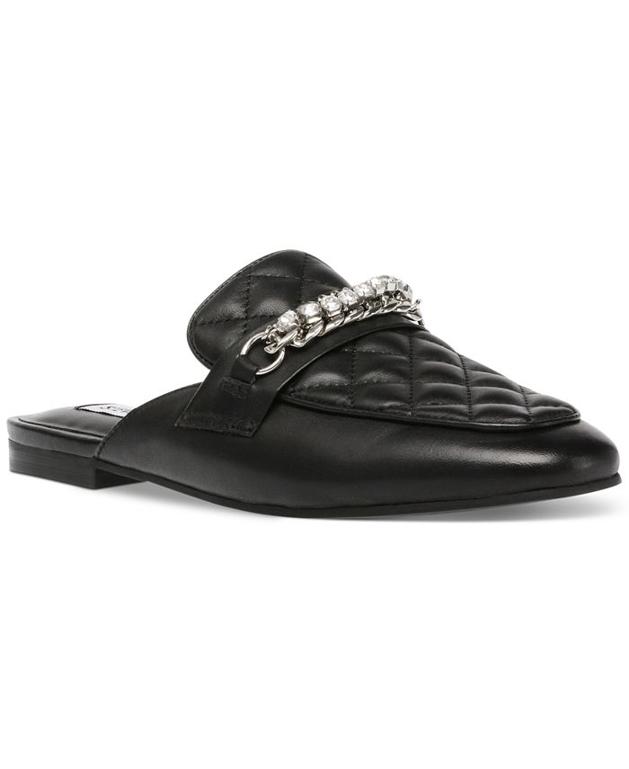 Steve Madden - Women's Kalista Quilted Chain Mules