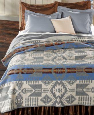 Pendleton Blankets, Silver Bark Heritage Wool King Blanket
