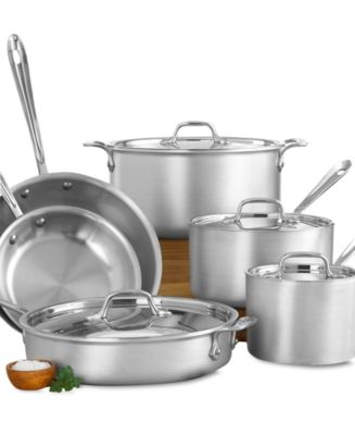All-Clad Masterchef 2 10 Piece Cookware Set