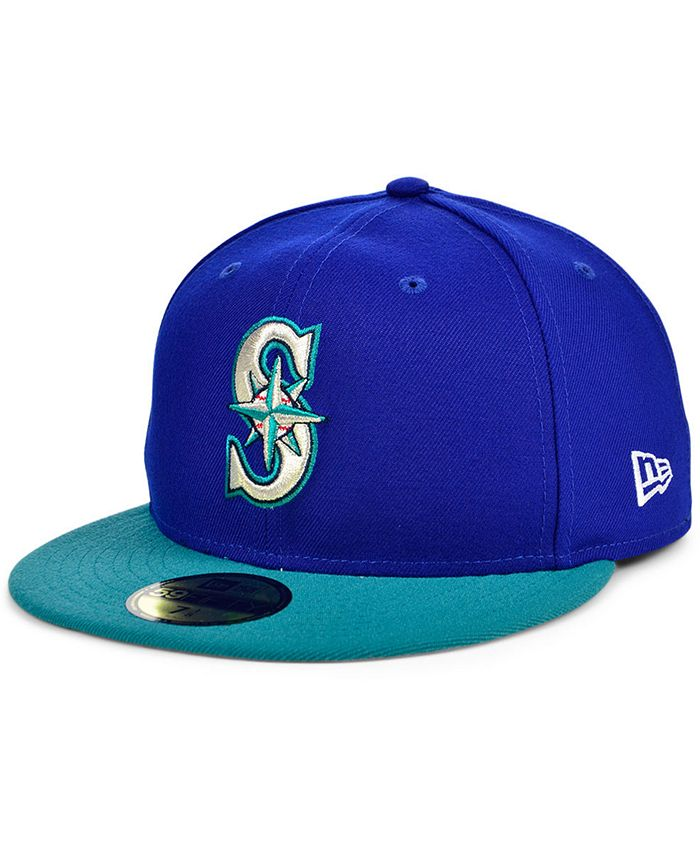 New Era - Seattle Mariners Plate Patch 59FIFTY Cap