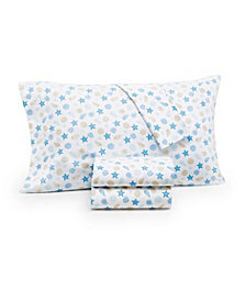 Charter Club Damask Designs Coastal Full Sheet Set