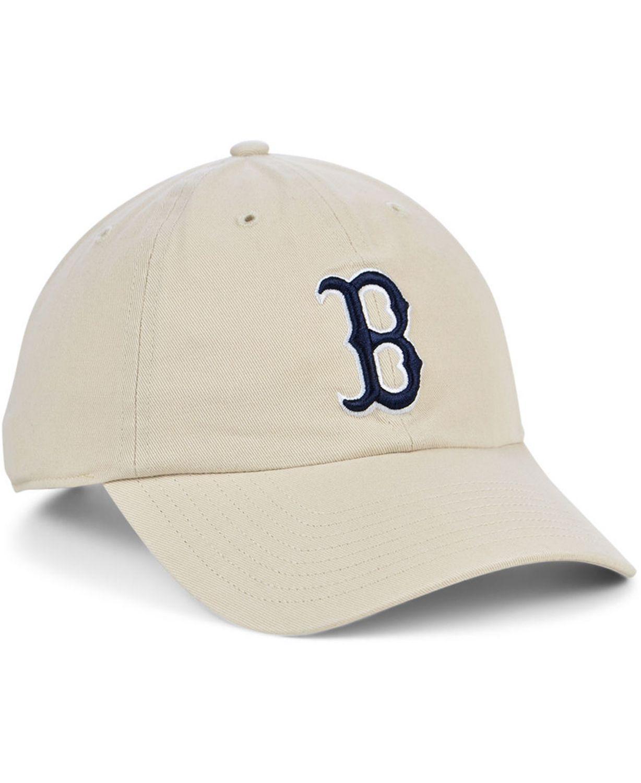 '47 Brand Boston Red Sox Bone Clean Up Cap & Reviews - Sports Fan Shop By Lids - Men - Macy's