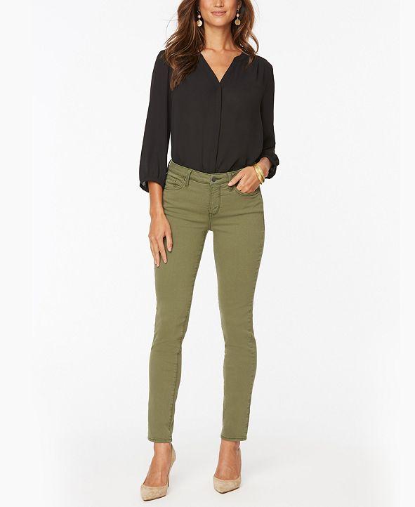 NYDJ Alina Skinny Ankle Jeans