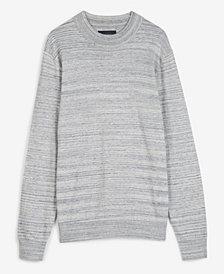 Lucky Brand Men's Spacedye Welterweight Crewneck Sweater