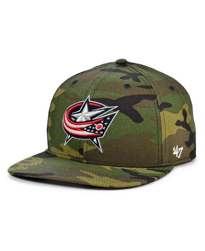 '47 Brand - Columbus Blue Jackets Grove Captain Cap