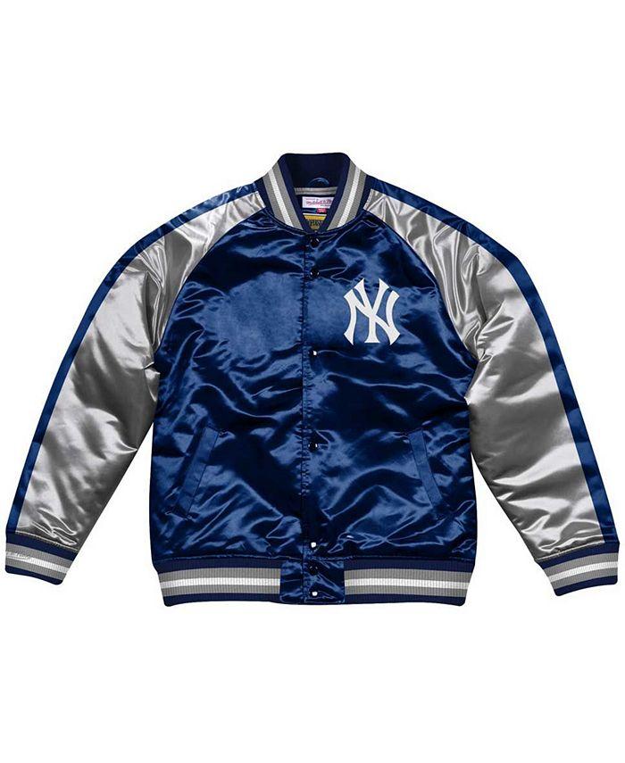 Mitchell & Ness - Men's New York Yankees Color Blocked Satin Jacket