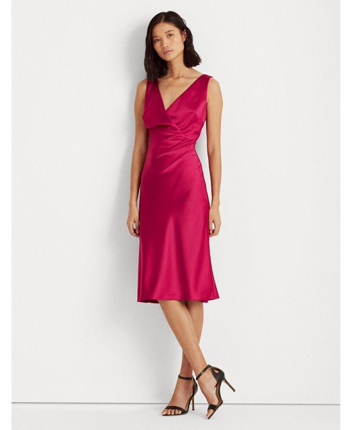 Lauren Ralph Lauren - Satin Cocktail Dress