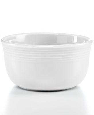 Fiesta White 28-oz. Gusto Bowl