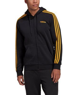 Men's Essentials 3-Stripes Fleece Zip Hoodie