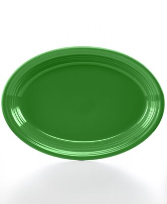 """Fiesta Shamrock 13"""" Oval Platter"""
