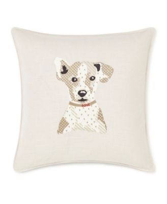 """20"""" L x 20"""" W Augie Embroidered Square Pillow"""