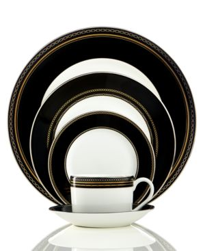 Vera Wang Dinnerware, With Love Noir 5-Piece Place Setting