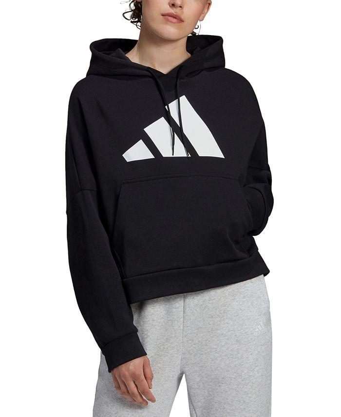 adidas - Logo Back-Zip Hoodie