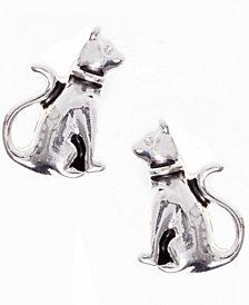 Pet Friends Jewelry Cat Button Earring